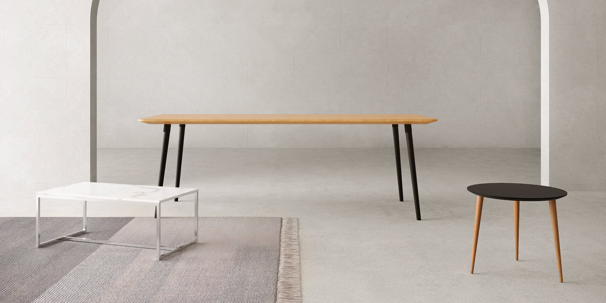 dining table and couch tables