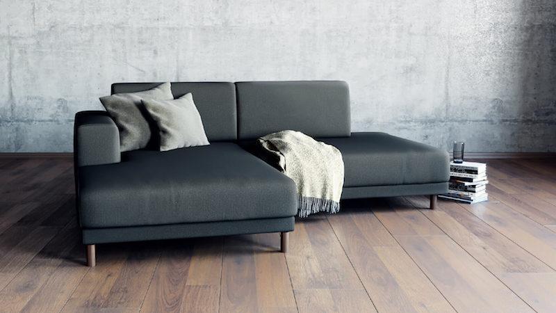 corner sofa anthracite